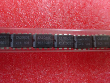 CA3080E CA3080AE CA3080 OPERATIONAL AMPLIFIER SLEW RATE SINGLE CHIP IC