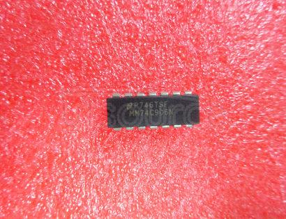 74C906 Hex Open Drain N-Channel Buffers . Hex Open Drain P-Channel Buffers
