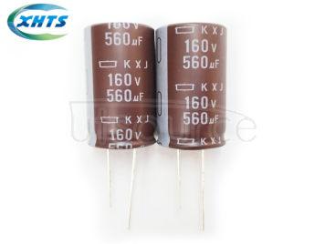 NIPPON CHEML-CON EKXJ-160ELL561MM40S DIP Capacitors 160V560UF KXJ 18X40