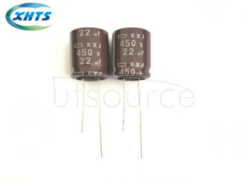 NIPPON CHEML-CON EKXJ-451ELL220MK20S DIP Capacitors 450V22UF KXJ12.5X20
