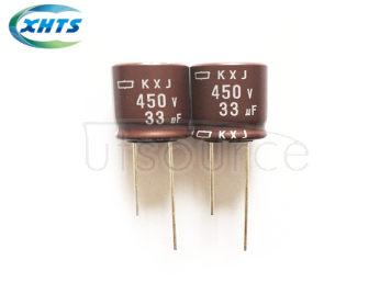 NIPPON CHEML-CON EKXJ-451ELL330ML20S DIP Capacitors 450V33UF KXJ16X20