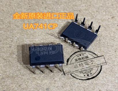 UA741CP IC OPAMP GP 1 CIRCUIT 8DIP