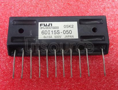 6DI15S-050 POWER TRANSISTOR MODULE