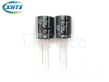 RUBYCON 16V2200UF 12.5X20MM DIP Capacitors 16ZLH2200MEFC12.5X20