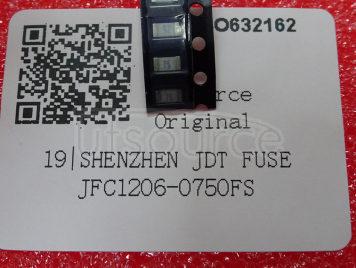 Shenzhen JDT Fuse JFC1206-0750FS(10pcs)