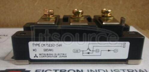 CM75E3U-24H HIGH POWER SWITCHING USE INSULATED TYPE
