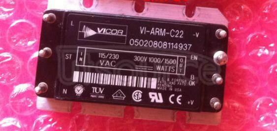 VI-ARM-C22 Autoranging Rectifier Modules Up to 1500 Watts