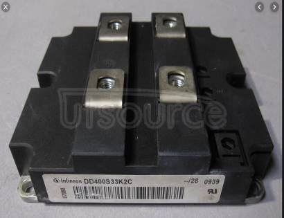 DD400S33K2C IGBT Modules up to 3300V Diodes<br/> Package: A-IHM130-1<br/> IF  typ: 400.0 A<br/> Configuration: Diode Modules<br/> Technology: IGBT2 Standard<br/> Housing: IHV 130 mm<br/> Features: -<br/>
