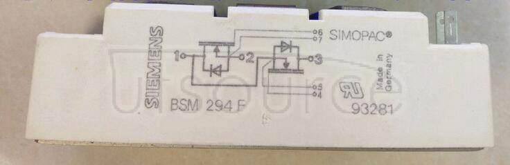 BSM294F TRANSISTOR | MOSFET POWER MODULE | HALF BRIDGE | 1KV VBRDSS | 18A ID