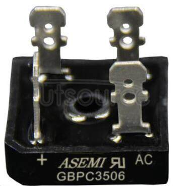 GBPC3506 35 Ampere Glass Passivated Bridge Rectifiers(35A,600V