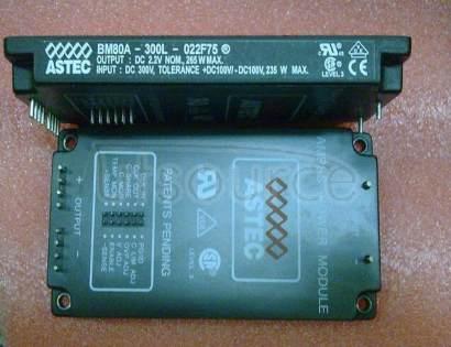 BM80A-300L-022F75 300 Watts