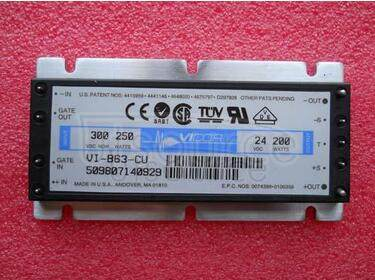 VI-B63-CU/F4 BATTERY CHARGER CURRENT SOURCE MODULES