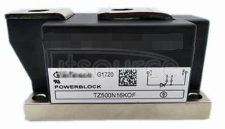 TZ500N16KOF Netz-Thyristor-Modul   Phase   Control   Thyristor   Module