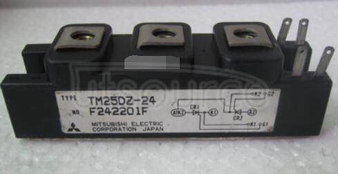 TM25DZ-24 HIGH VOLTAGE MEDIUM POWER GENERAL USE INSULATED TYPE