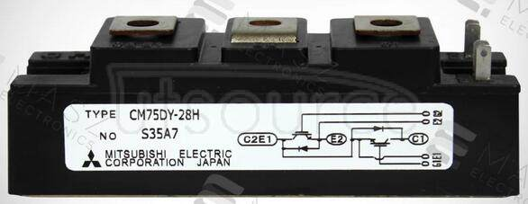 CM75DY-28H HIGH POWER SWITCHING USE INSULATED TYPE