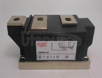 TT425N16KOF SCR / Diode Modules up to 1800V SCR / SCR Phase Control