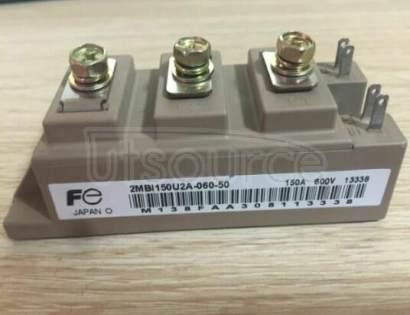 2MBI150U2A-060-50 IGBT Modules 2-Pack, Fuji Electric V-Series, 6th Generation Field-Stop U/U4 Series, 5th Generation Field-Stop S-Series, 4th Generation NPT
