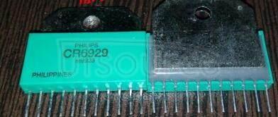 CR6929 Triple video driver hybrid amplifie
