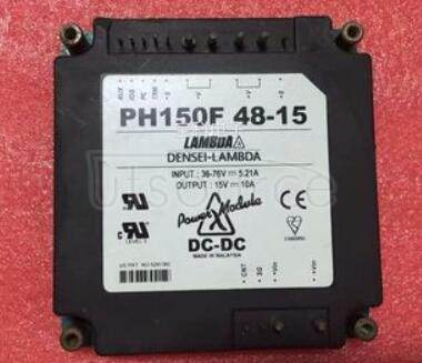 PH150F48-5 Simple function, 50 to 600W DC-DC converters