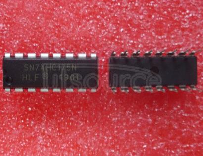 SN74HC175N IC FF D-TYPE SNGL 4BIT 16DIP