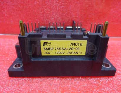 6MBP75RSA120-03 Intelligent   Power   Module  (  R-Series  )