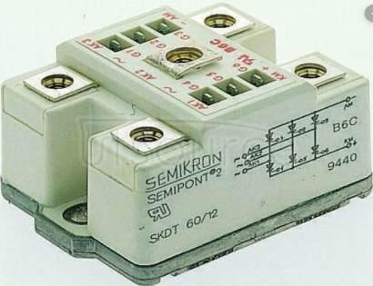 SKDT60/12 Controllable Bridge Rectifiers