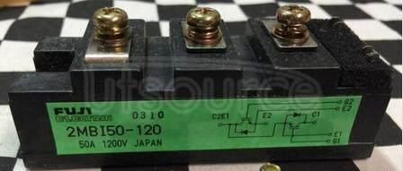 2MBI50-120 TRANSISTOR   IGBT POWER MODULE   HALF BRIDGE   1.2KV VBRCES   50A IC