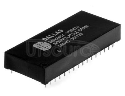 """DS1747W-120IND+ Real Time Clock (RTC) IC Clock/Calendar 512KB Parallel 32-DIP Module (0.600"""", 15.24mm)"""