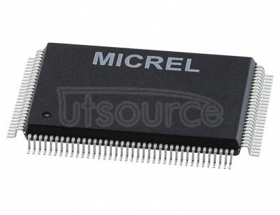 KSZ8893MQL-AM-TR Ethernet Switch 10/100 Base-FX/T/TX I2C, SPI Interface 128-PQFP (14x20)