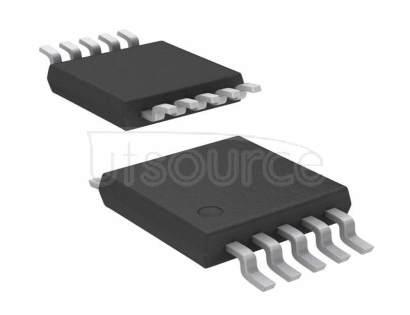 MCP4262T-103E/UN Digital Potentiometer 10k Ohm 2 Circuit 257 Taps SPI Interface 10-MSOP