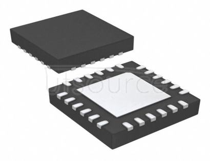 SI53328-B-GMR Clock Fanout Buffer (Distribution), Multiplexer IC 2:6 200MHz 24-VFQFN Exposed Pad