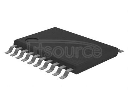 "IDT74FCT3807DPGI Clock Fanout Buffer (Distribution) IC 1:10 166MHz 20-TSSOP (0.173"", 4.40mm Width)"