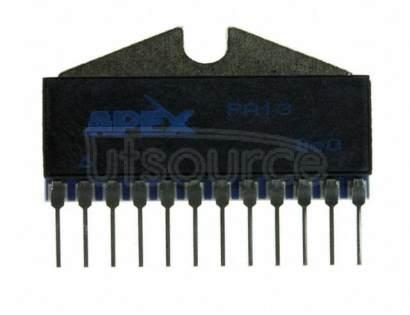 PB63DP Power Amplifier 2 Circuit 12-POWER SIP