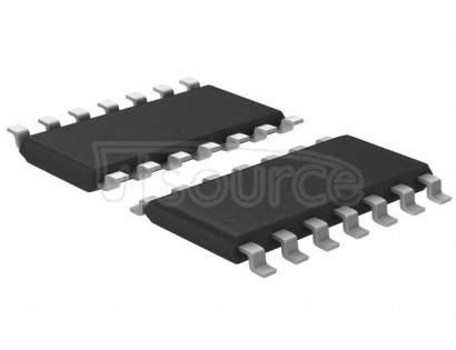 SN74LVC125ADE4 Buffer, Non-Inverting 4 Element 1 Bit per Element Push-Pull Output 14-SOIC