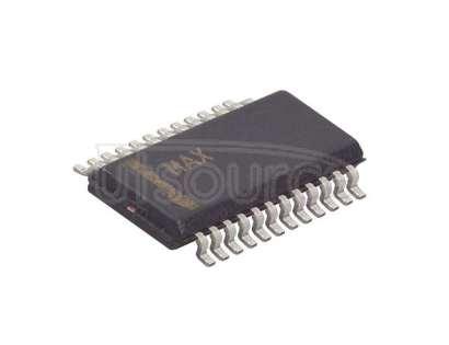 MAX1293BCEG+ 12 Bit Analog to Digital Converter 2, 4 Input 1 SAR 24-QSOP
