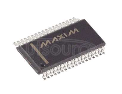 MAX5952CEAX+T Power Over Ethernet Controller 4 Channel 802.3at (PoE+), 802.3af (PoE) 36-SSOP