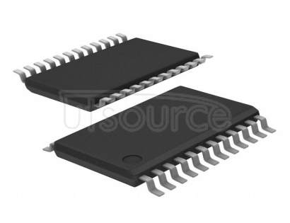 PCA9555PW,112 16-bit I2C-bus and SMBus I/O port with interrupt - # of Addresses: 8 <br/> I2C-bus: 400 kHz<br/> Interrupt: 0-1 <br/> Max Sink Current per bit: 25 mA<br/> Max Sink Current, per package: 200 mA<br/> Number of bits: 16 <br/> Operating temperature: -40~85 Cel<br/> Operating voltage: 2.3~5.5 VDC<br/> Source Current per bit: 10 mA<br/> Weak Pull-Up Current Source: yes<br/> Package: SOT355-1 TSSOP24<br/> Container: Tube