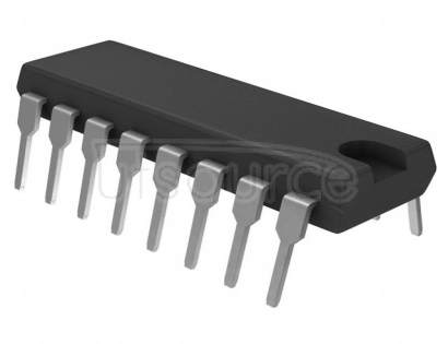 MC10H109P 0.3A, 2.7 to 5.5V Quad 4 In/4 Out High-Side MOSFET Switch IC, Fault Report, 2 Act-Hi, 2 Act-Lo En 16-SOIC 0 to 85