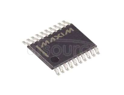 DS1267BE-050+T/R Digital Potentiometer 50k Ohm 2 Circuit 256 Taps Serial Interface 20-TSSOP