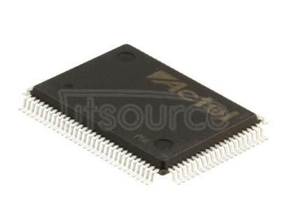 A40MX02-PQG100I IC FPGA 57 I/O 100QFP