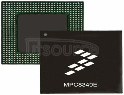 MPC8349ZUAGD PowerPC e300 Microprocessor IC MPC83xx 1 Core, 32-Bit 400MHz 672-TBGA (35x35)