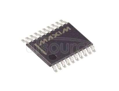 MAX4029EUP+T Video Amp, 4 2:1 Multiplexer-Amplifier 20-TSSOP