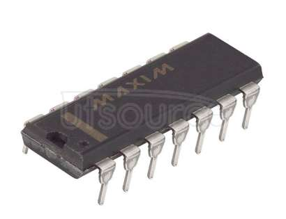 DS1666-100+ Digital Potentiometer 100k Ohm 1 Circuit 128 Taps Up/Down (U/D, INC, CS) Interface 14-PDIP
