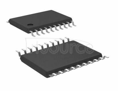 "NB3N853501EDTG Clock Fanout Buffer (Distribution), Multiplexer IC 2:4 266MHz 20-TSSOP (0.173"", 4.40mm Width)"
