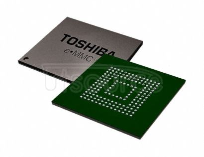 THGBMHG9C8LBAWG FLASH - NAND Memory IC 512Gb (64G x 8) MMC 52MHz 153-WFBGA (11.5x13)