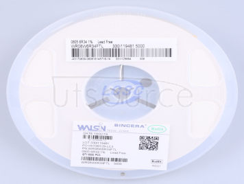 Walsin Tech Corp WR08W6R34FTL(100pcs)