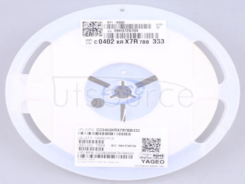 YAGEO CC0402KRX7R7BB333(50pcs)