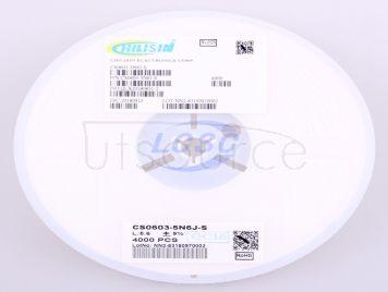 Chilisin Elec CS0603-5N6J-S(10pcs)