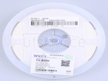 Walsin Tech Corp WR02X2001FAL(100pcs)