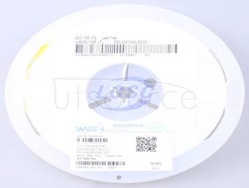Walsin Tech Corp WR06X165JTL(100pcs)